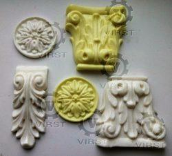 Мебельный декор из пластика по образцу или 3d модели