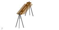 Модуль навески для Линии горячего цинкования