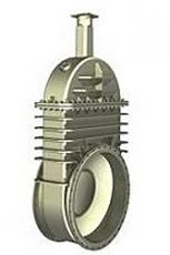 Задвижки штампосварные с выдвижным и невыдвижным шпинделем