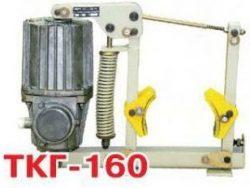 Тормоз крановый ТКГ 160 с толкателем ТЭ-16, ТЭ-30