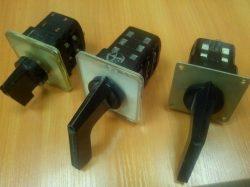 Переключатели универсальные серии ПКУ-3, ПКП-10, ПКП-25, УП5311-5317.