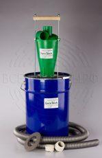 Циклонный Фильтр (Циклон) с Полным уборочным комплектом для крупного тяжелого строительного мусора (дерево, бетон, металл)