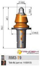 Резец дорожный Element 6 / Barat Carbide RM3-T9