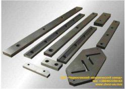 Ножи к гильотинным ножницам и пресс-ножницам - ножи гильотинные по чертежу заказчика (Чернигов)