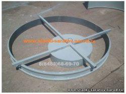Формы для производства плит перекрытия и плит днища колодца ПН-1.5