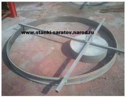 Формы для производства плит перекрытия и плит днища колодца ПН-2.0