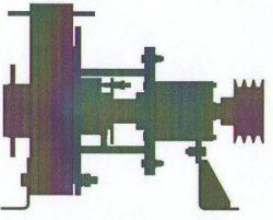 Насос химический, двухопорный КМХ Д 65-40-200