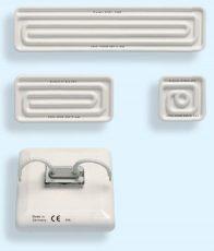 Керамический инфракрасный (ИК-)нагреватель HTS/4 250W 230V 860°C 60x60 mm