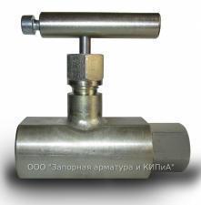 Клапан игольчатый 15H54бк СПМ K(NPT)1/2B-K(NPT)1/2B